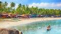 India, Goa, Palolem beach