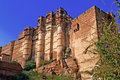 India, Jodhpur: The mehrangarh fort Stock Images