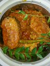 India Non vegetarian curries - Fish curry Royalty Free Stock Photo