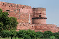 India red fort in agra amar singh gate uttar pradesh Royalty Free Stock Images