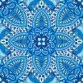 India seamless paisley kerchief pattern, decorative textile, wrapping, decor. Royalty Free Stock Photo