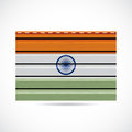 India siding produce business company icon illustration Stock Photography