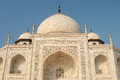 India taj machal white marble mahal in agra uttar pradesh Stock Image