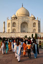 India: Taj Mahal Royalty Free Stock Photo