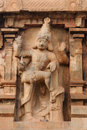 India tamil nadu temples brihadeeswarar hindu temple in thanjavur detail Stock Photos