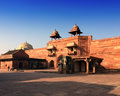 India the thrown city of fatehpur sikri Stock Photography