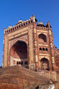 India the thrown city of fatehpur sikri Royalty Free Stock Image