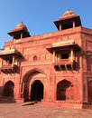 India the thrown city of fatehpur sikri close up in a sunny day Stock Photography