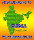 India Travel Poster Stock Photos