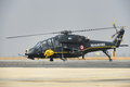 Indian air force light combat helicopter developed by hindustan aeronautics limited of india Royalty Free Stock Photos