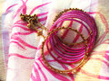 Indian bangles Royalty Free Stock Photo