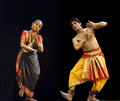 Indian bharatanatyam dancers Royalty Free Stock Image