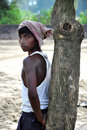 Indian bihari boy Stock Photography
