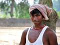 Indian bihari boy Royalty Free Stock Image