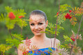 Indian body art Royalty Free Stock Photography