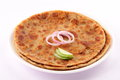 Indian bread-Aloo paratha Royalty Free Stock Photo