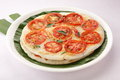Indian breakfast tomato utappam traditional detail of south Royalty Free Stock Photos