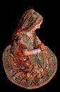 Indian bridal girl Royalty Free Stock Photo
