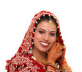 Indian bride Stock Photography