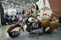 Indian Chief Roadmaster motorcycle Stock Image