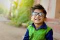 Indian Child wearing eyeglasses Royalty Free Stock Photo