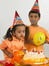 Indian children birthday Stock Photos