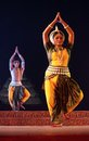 Indian Classical dancers Stock Images