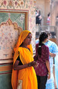 Indian Cleaning Lady Royalty Free Stock Photo