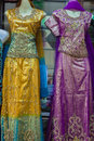 Indian Clothing Dresses Detail Stock Images