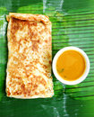 Indian cooking Murtabak ethnic food Royalty Free Stock Images