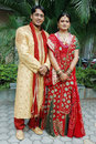 Indian couple Stock Image
