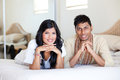 Indian couple portrait Royalty Free Stock Photo