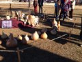 Indian crafts thanksgiving at the reservation Royalty Free Stock Images