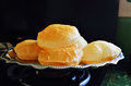 Indian cuisine puri or poori staple from subcontinent Stock Image