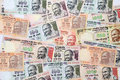 Indian currency bank notes closeup of Stock Photo