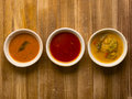 Indian curries Royalty Free Stock Photo