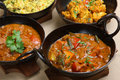 Indian Curry Selection Royalty Free Stock Image