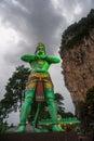 The indian deity Hanuman Royalty Free Stock Photo