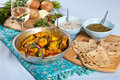 Indian dishes Royalty Free Stock Images