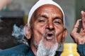 Indian elderly man Royalty Free Stock Photo