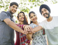 Indian Ethnicity Community Casual Cheerful Concept Royalty Free Stock Photo