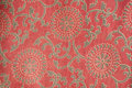 Indian fabric with traditional design Royalty Free Stock Photography