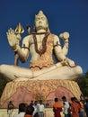 Indian famas God lord Shiva stachu Royalty Free Stock Photo