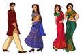 Indian fashion set