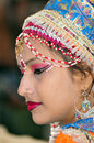 Indian festival girl Stock Photography