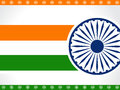 Indian Flag background. Royalty Free Stock Image