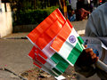 Indian Flags Royalty Free Stock Photo