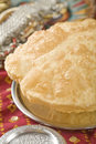 Indian food, Bhatura. Royalty Free Stock Photo