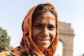 Indian gipsy girl, New Delhi, India Royalty Free Stock Photo