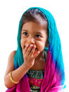Indian girl portrait 4 Royalty Free Stock Photos